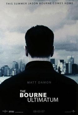 poster - Bourne ultimatum