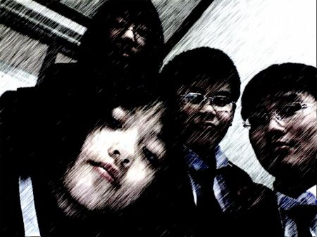 사촌동생들과 찍은 사진