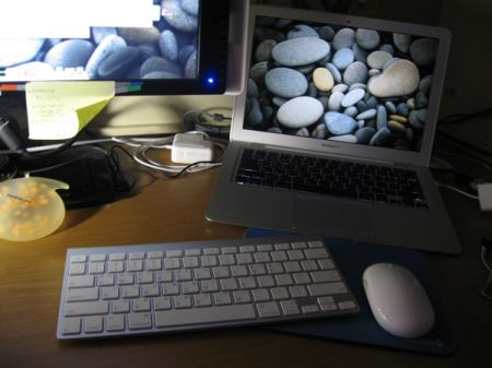 keyboard with macbook air